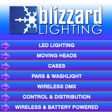 Blizzard Lighting is the industries leader in state of the art LED lighting Stage Lights Up-Lights DJ Lighting Theater and Houses of Worship Stage ...  sc 1 st  Cheap DJ gear & 1/2 Price Sale Today on Blizzard Lighting products