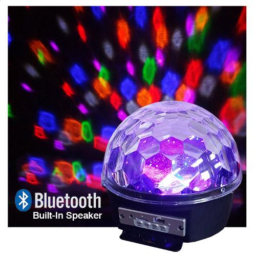 Led Disco Light Bluetooth Usb Internal Speakers