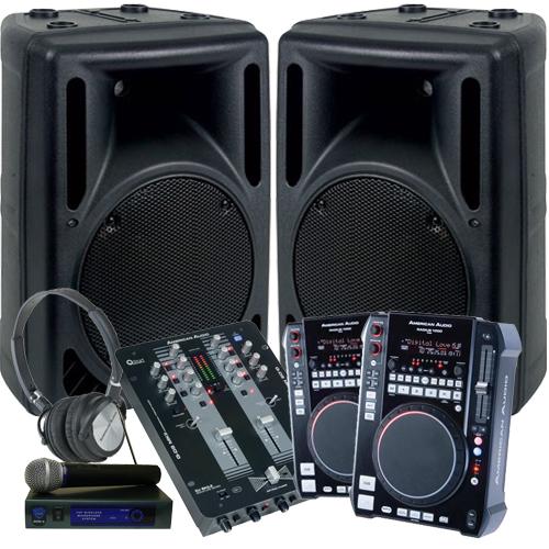 American Audio Complete Dj Scratch System