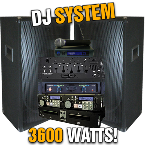 Complete Mega Dj System Everything You Need 3100 Watt