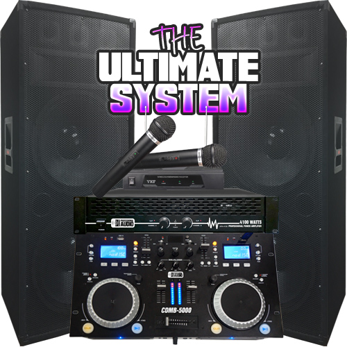 The Ultimate Dj System Everything You Need 4100 Watt