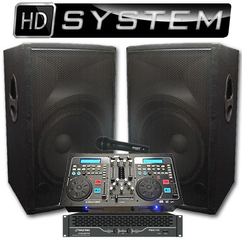 High Definition Dj System 2100 Watts Perfect For