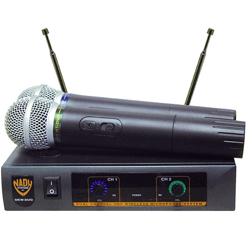 Dual Channel Wireless Mic Nady Dkw Duo