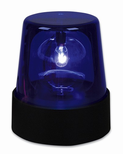 7 Blue Police Beacon Light El Polbl Low Priced Novelty