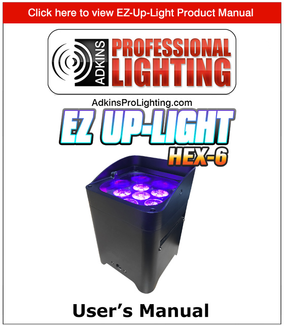 EZ Up-Light Product Manual