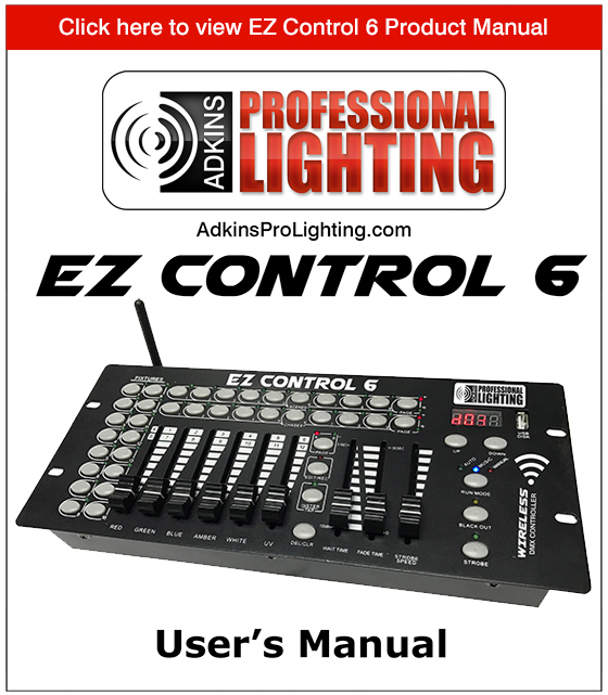EZ Control 6 Product Manual