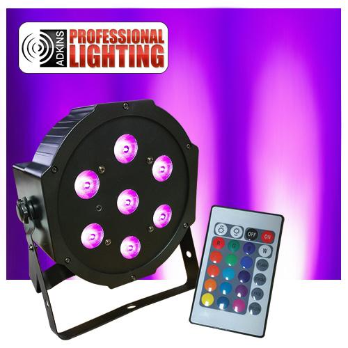 led flat par light manual
