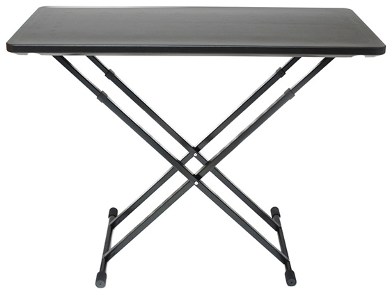 The Fastset Musicians/DJ Utility Table will support up to 150 pounds of evenly distributed weight putting it in a class above bargain-bin folding tables.  sc 1 st  Cheap DJ gear & Fast Set DJ Utility Table