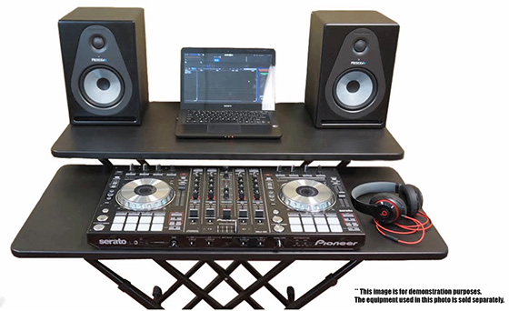 fast set dj utility table. Black Bedroom Furniture Sets. Home Design Ideas