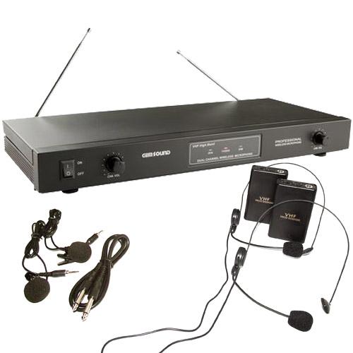 Gem Sound Gmw 62 Wireless Mic System