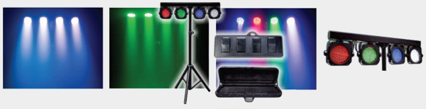 LED 4Bar Par Pack System
