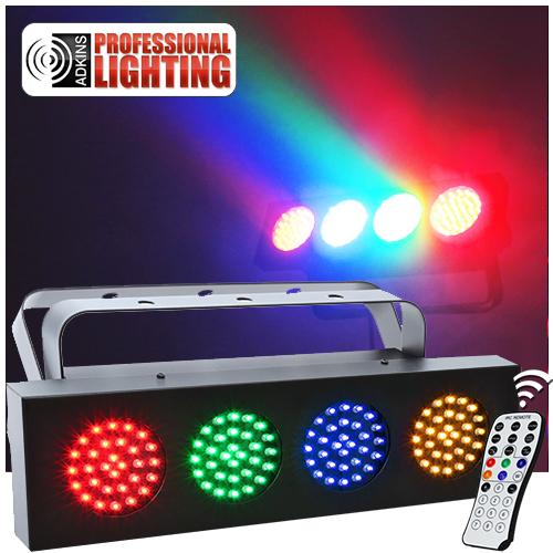 dj led bank rgba adkins professional lighting