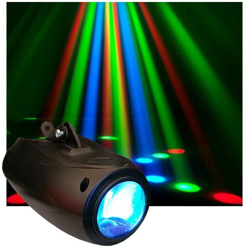 Economy LED Mini Moon Flower Effect  sc 1 st  Cheap DJ Gear & 1/2 Price Sale on Dj Lighting Stage Lighting Disco Lights Led ... azcodes.com