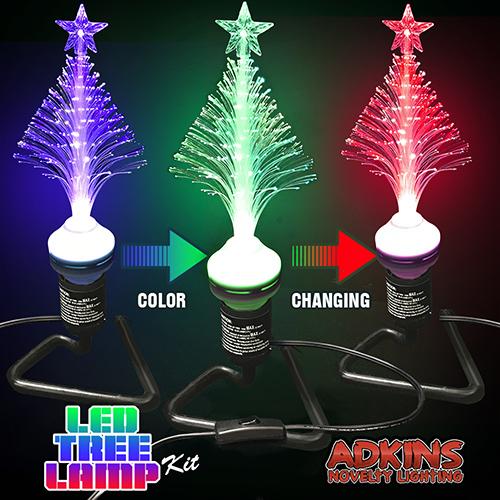 adkins novelty lighting led tree lamp kit
