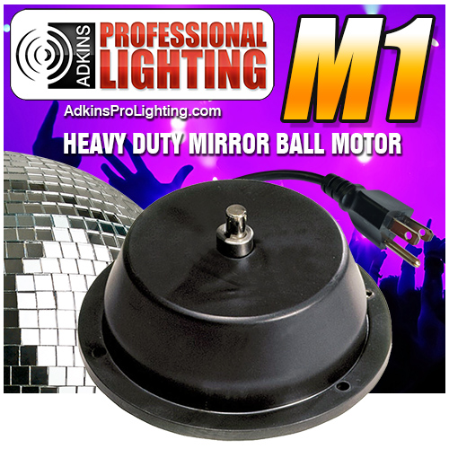 Mirror ball motor heavy duty m1 low priced mirror for Disco ball motor heavy duty