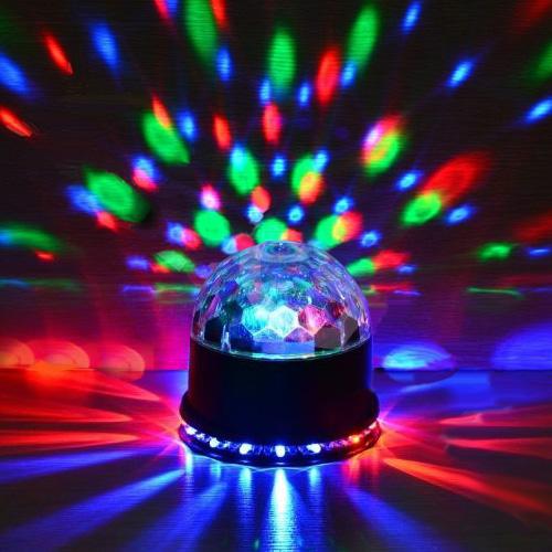 LED Magic Ball Light Effect
