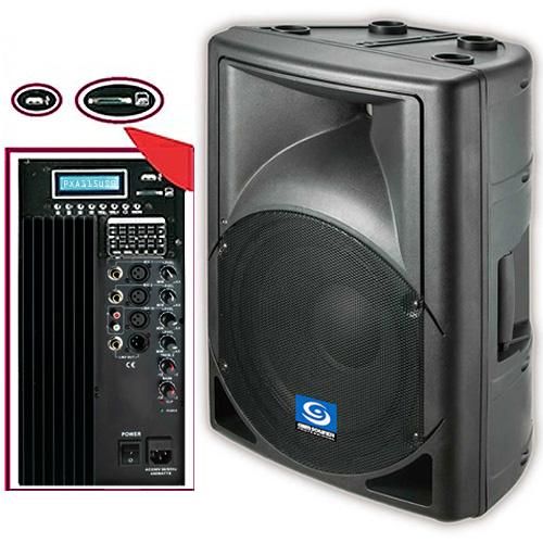 Gem Sound Pxa115usb Powered Speaker