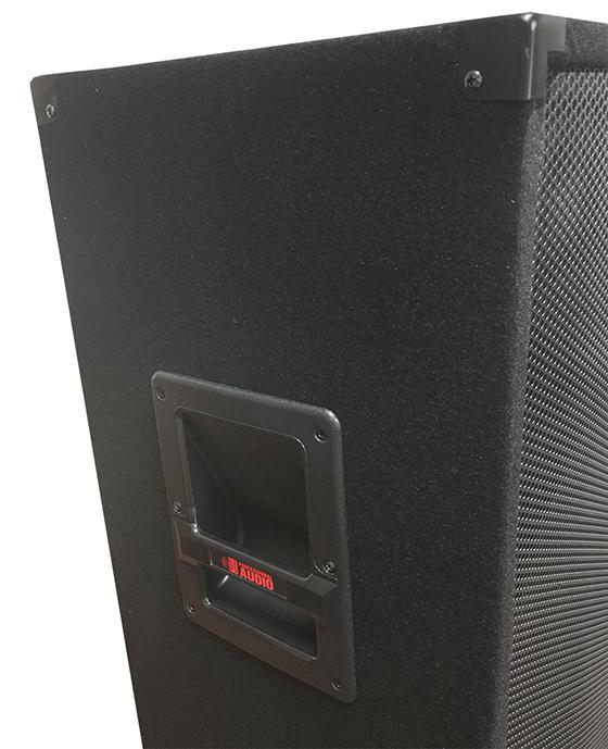 15 speaker 1000 watts 3 way adkins pro audio dj speaker this