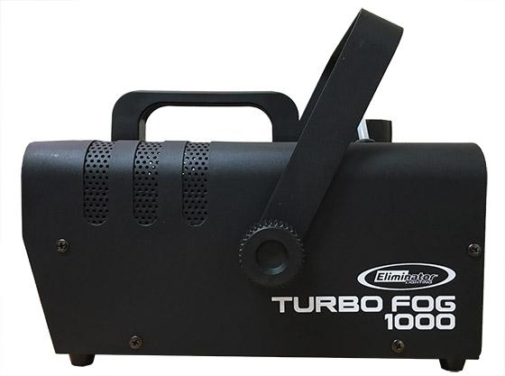 Eliminator Lighting Turbo Fog 1000 side view