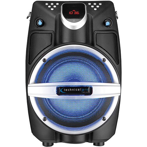 Technical Pro 6 5 Quot Powered Bluetooth Pa System With Mic