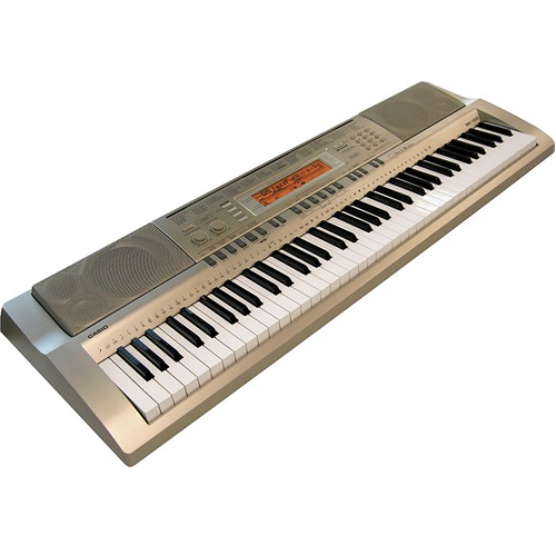 casio 76 key full size keyboard wk200 low priced full size keyboards at pro sound depot. Black Bedroom Furniture Sets. Home Design Ideas