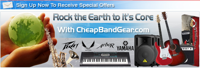 Cheap Band Gear