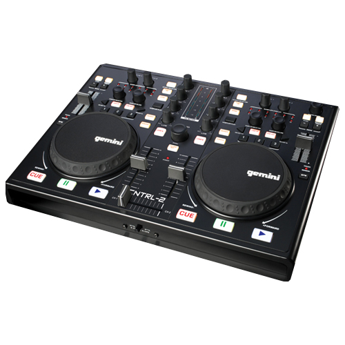 usb midi dj controller with virtual dj software. Black Bedroom Furniture Sets. Home Design Ideas