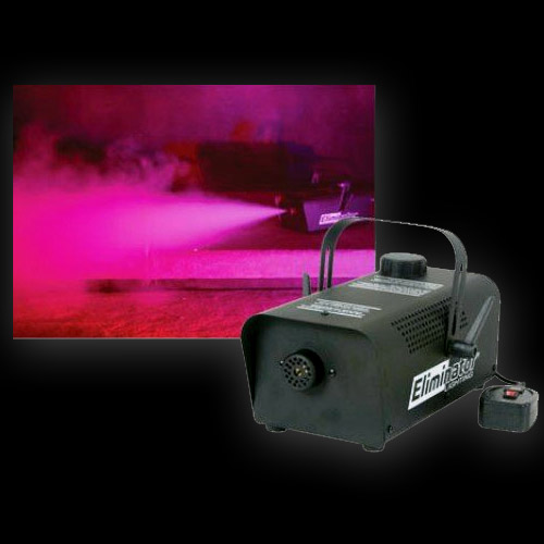 how to use fog machine without remote