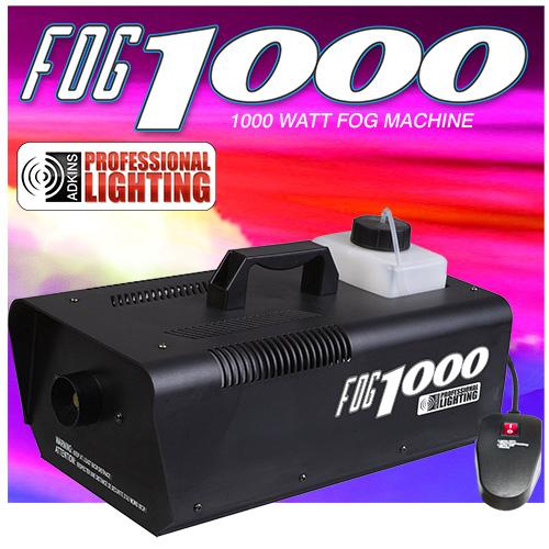 adkins pro lighting 1000 watt fogger