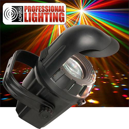 adkins pro lighting micro moonflower burst led dj lighting effect