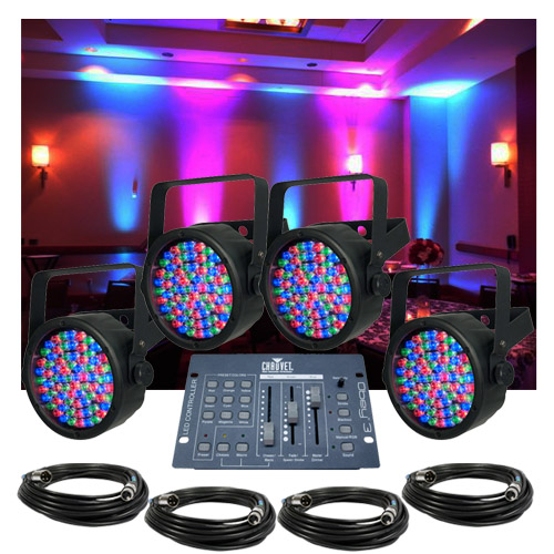 Chauvet SlimPar 38 Up-Lighting System  sc 1 st  Cheap DJ Gear & SlimPar 38 Up-Lighting System azcodes.com