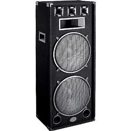 1500 Watt Dual 15 Quot 3 Way Speaker V3000 Low Priced Dj