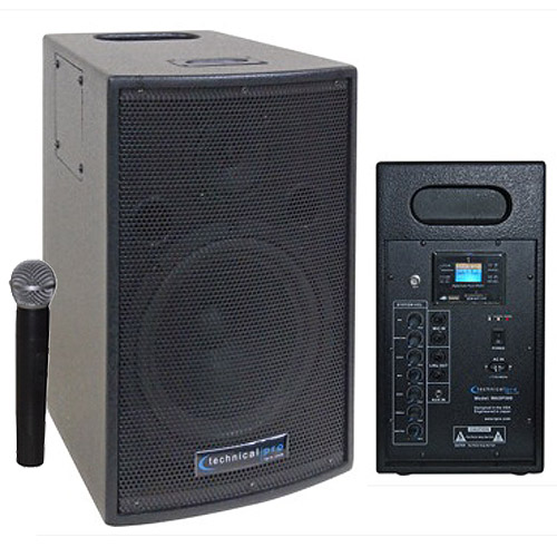 8 Rechargeable Battery Powered Pa System With Wireless