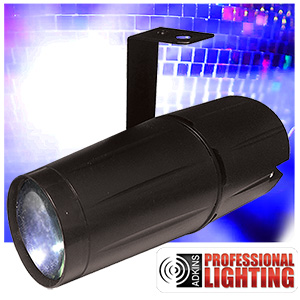 adkins professional lighting led pinspot 3w led pinspot 3w low