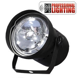 adkins pro lighting pinspot par 36 al pinspot low priced adkins