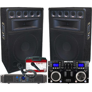 Complete DJ System - Everything you need at an awesome price!