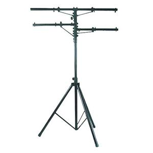 12' Heavy Duty Black Tri-Pod Stand w/2 Side Bars