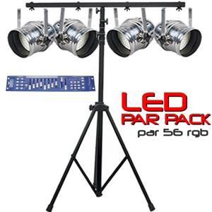 LED Par Pack - Par 56 RGB DMX