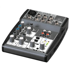 Behringer XENYX 502 - 5 Input 2 Bus Audio Mixer