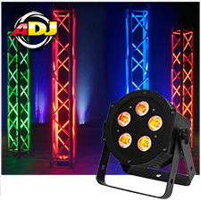 American DJ 5P HEX LED Par