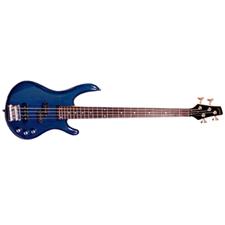 Arbor Electric Bass Guitar - Transparent Blue