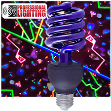 100 Watt Fluorescent Blacklight Bulb