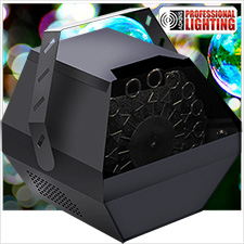 Adkins Pro Lighting Bubble Machine