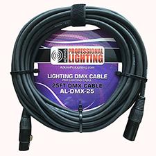 25 Foot Lighting DMX Cable - Adkins Professional Lighting