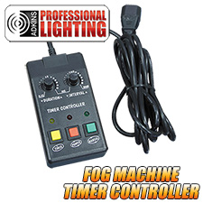 Adkins Pro Lighting Fog Machine Timer Remote