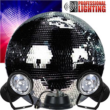 20 inch Mirror Ball Party Kit