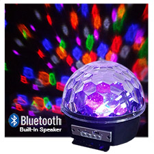 LED Disco Light - Bluetooth - USB - Internal Speakers