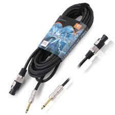 Technical Pro 1'4 inch to Speakon Signal Cable - 25 Foot