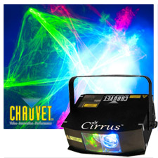 Chauvet Cirrus LED Laser Effect