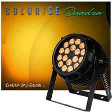 Blizzard Lighting Colorise Quadra (Black)